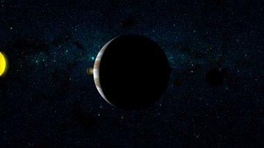 行星木星 — 图库视频影像