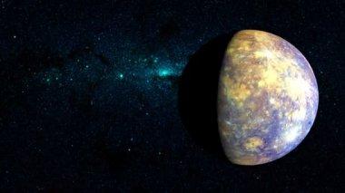 Mercurio planeta — Vídeo de stock