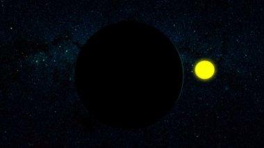 Planet Uranus — Stock Video