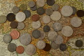 Austro Hungarian Coins — Stock Photo