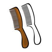 Comb — Stock Vector