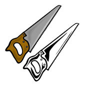Hand saw — Stock Vector