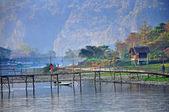 Vang Vieng in Laos — Stock Photo
