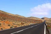 Fuerteventura road — Stock Photo