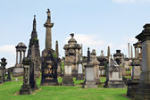 Glasgow necropolis — Stockfoto