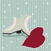 Ice skates — Stock Vector