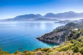 Vista panoramica di un arcipelago di isole tropicali — Foto Stock