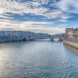 Постер, плакат: Lyon and the River Saone France