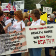 Tea Party Express Rally — Stock Photo