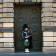 Stock Photo: Piper in Edinburgh