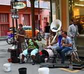 New Orleans Street Musicians — Stock Photo