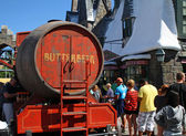 Butterbeer Wagon — Stock Photo