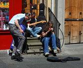 Edinburgh Street Musicians — Stockfoto