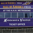 Stock Photo: Mall of America Field Entrance