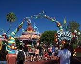 Dr. Seuss Landing — Stock Photo