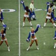 Stock Photo: Dallas Cheerleaders