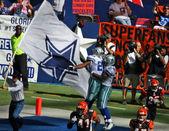 Cowboys celebrar — Fotografia Stock