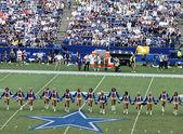 Primo tempo di Cowboys cheerleaders — Foto Stock