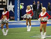 Cowboys Cheerleaders Halftime — Foto de Stock