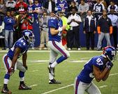 Eli manning si prepara — Foto Stock