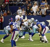 Tony Romo Calls Signals — Stock Photo