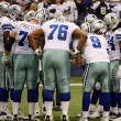 Stock Photo: Cowboys Huddle