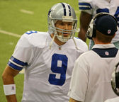 Tony Romo and Jason Garrett — Stock Photo