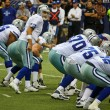 Stock Photo: Cowboys Line Up