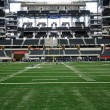 Stock Photo: End Zone View