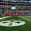 Stock Photo: Super Bowl End Zone