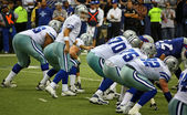 Cowboys Line Up — Stock Photo