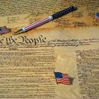 Stock Photo: US Constitution