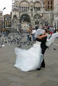 Wedding in Venice — Stock Photo