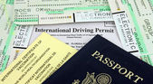 Travel Documents — Stock Photo