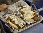 Philly cheese steak — Stockfoto