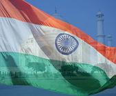 India Flag Composite — Stock Photo
