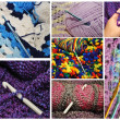 Crochet Collage — Stock Photo #38404735