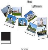 Maine Lighthouses — Stock Photo