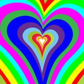 Corazones de colores-resumen — Foto de Stock