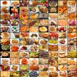 Stock Photo: Large Collage of Many Different Foods