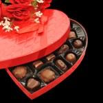 Valentine Chocolates — Stock Photo
