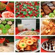 Collage of Christmas Treats — Stock Photo #39517293