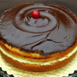 Stock Photo: Boston Cream Pie