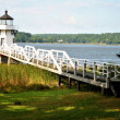 Stock Photo: Lighthouse with Walkway