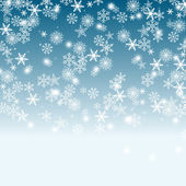Sky and Snow Background — Stock Photo