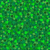 ST Patricks-Clover Background — Stock Photo