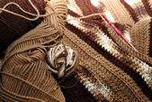 Crochet Brown — Stockfoto