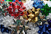 Background of Christmas Bows — Foto de Stock