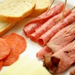 Stock Photo: Deli Meats as Appetizer