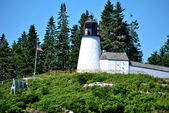 Burnt Island Lighthouse — Stock Photo